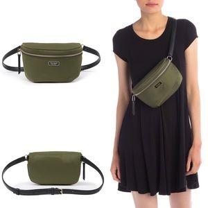 Kate Spade Dawn Nylon Belt Bag Fanny Pack Green